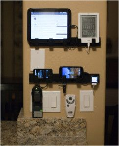 Diy Wall Charging Station Ideas With