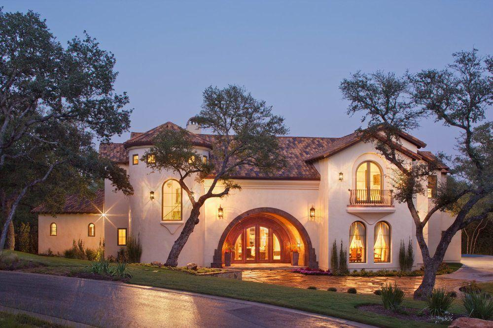 Exterior: Spanish Villa Exterior. #VanguardStudioInc