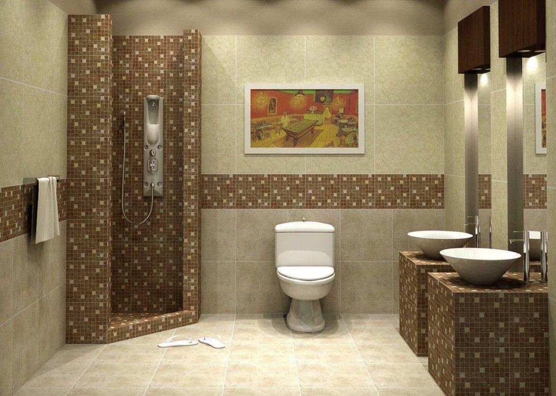 Risultati immagini per idee bagno moderno mosaico  idee bagno  Bathroom ceiling light Brown