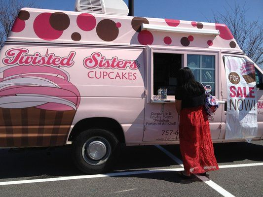 Twisted Sisters Cupcakes Mobile Van Things To Do In