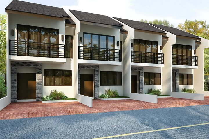 Philippine townhouse interior design inc house plans for Apartment exterior design philippines