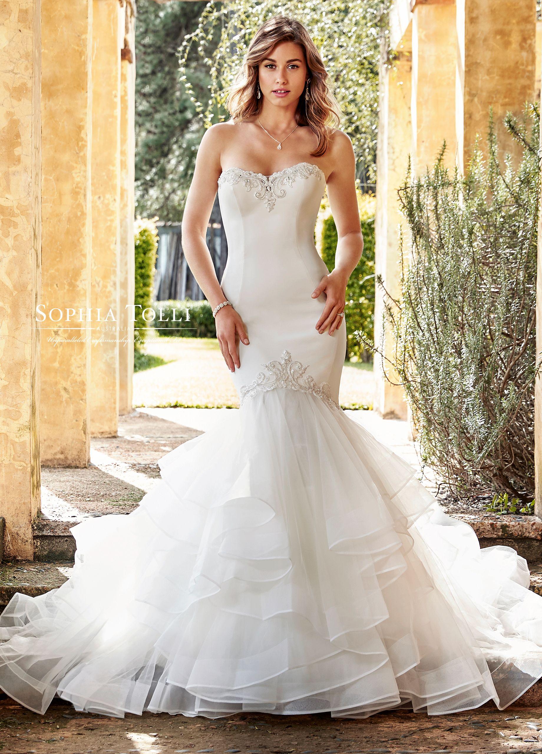Y imani in stylish destination wedding dress ideas