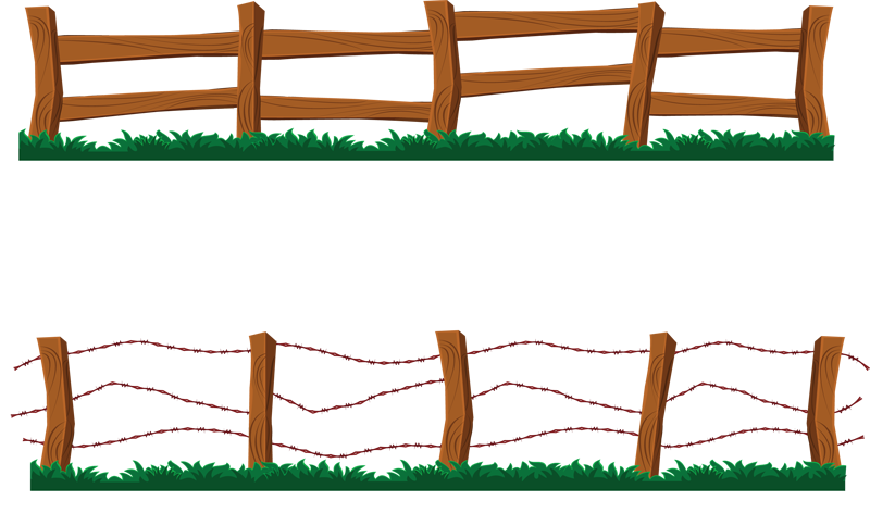 clip art picture of gate in a wooden fence description from rh pinterest com fence clip art free fence clipart with horse black and white