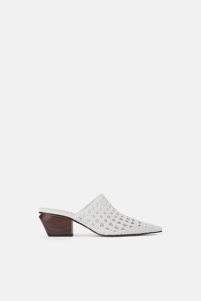 Buty Damskie Wyprzedaz Online Zara Polska Heeled Mules Heels Women Shoes