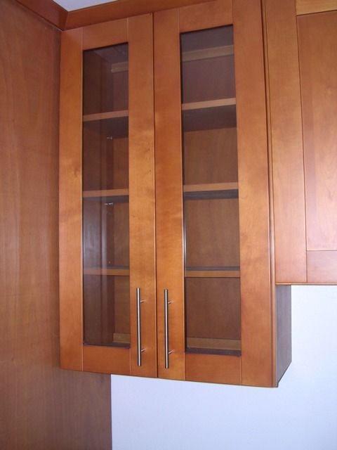 Spicy Honey Maple Shaker Kitchen Cabinets Photo Album gallery image ...