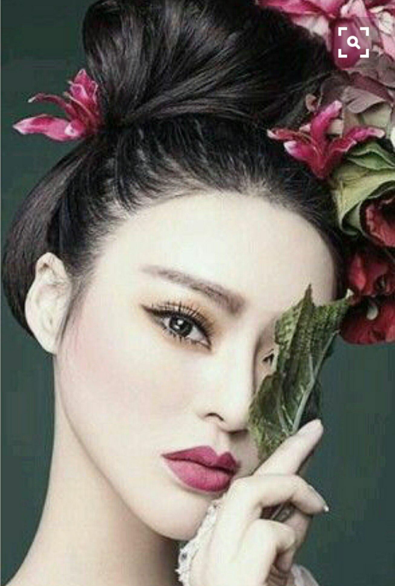 Pin by Tasha Burgess on Asian Beauty Beach wedding hair