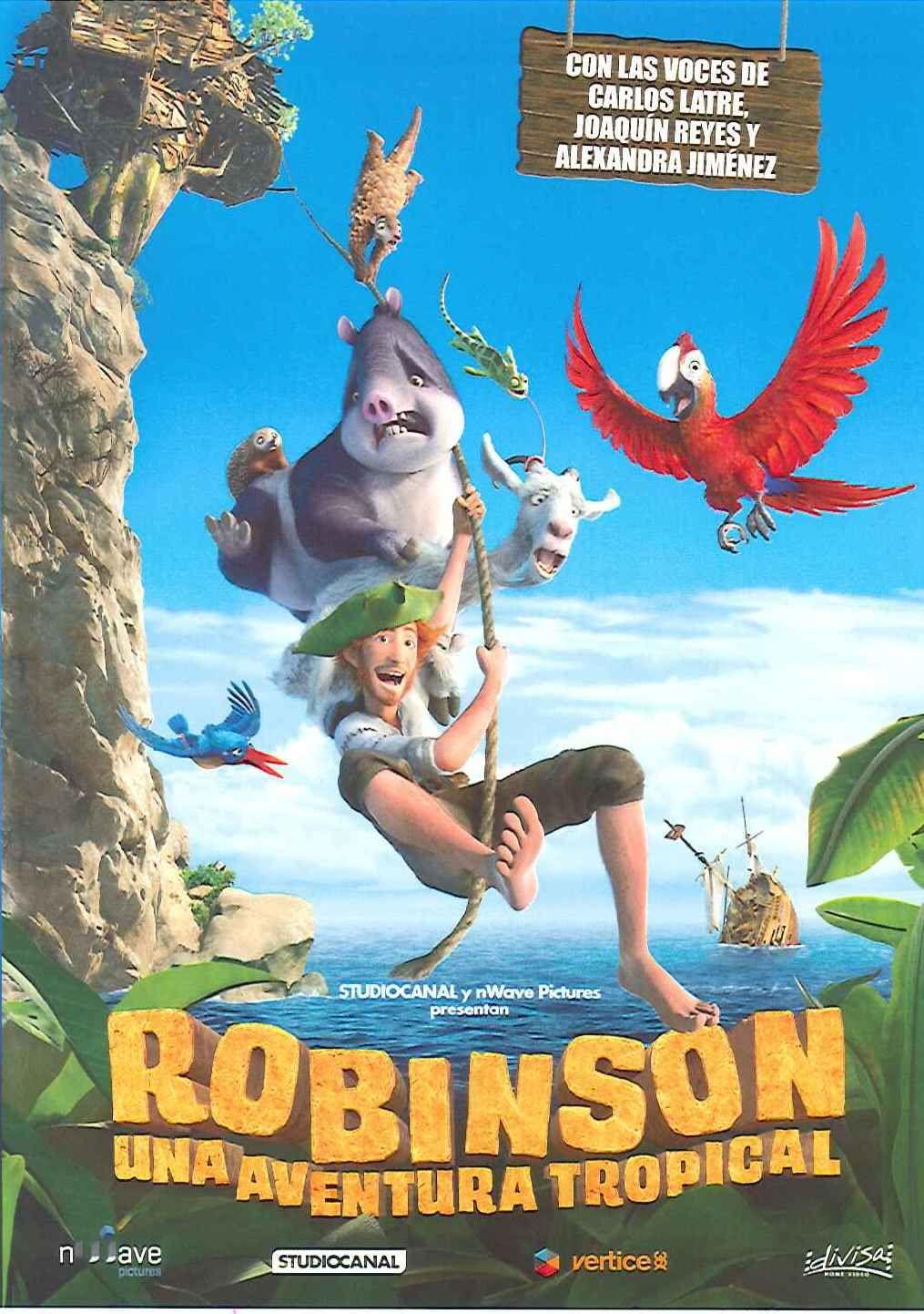 Robinson una aventura tropical vincent kesteloot