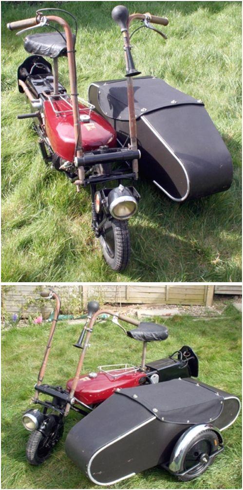1948 Brockhouse Corgi Mark 2 Combination - 98cc Excelsior Spryte engine - Watsonian Child's Sidecar
