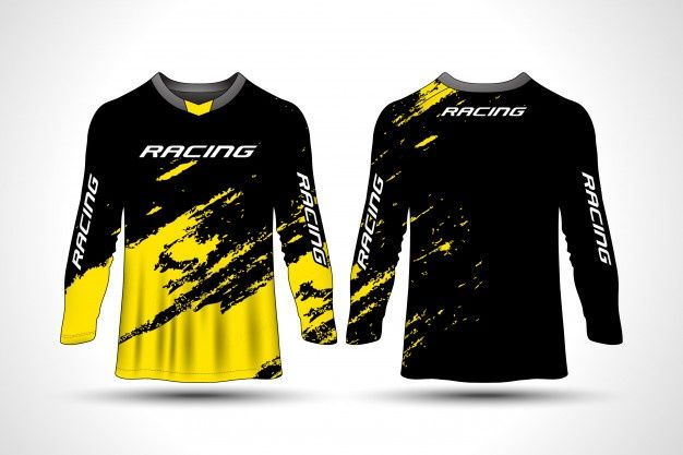 Download Long Sleeve T-shirt Sport Motorcycle Jersey in 2020 | Long ...