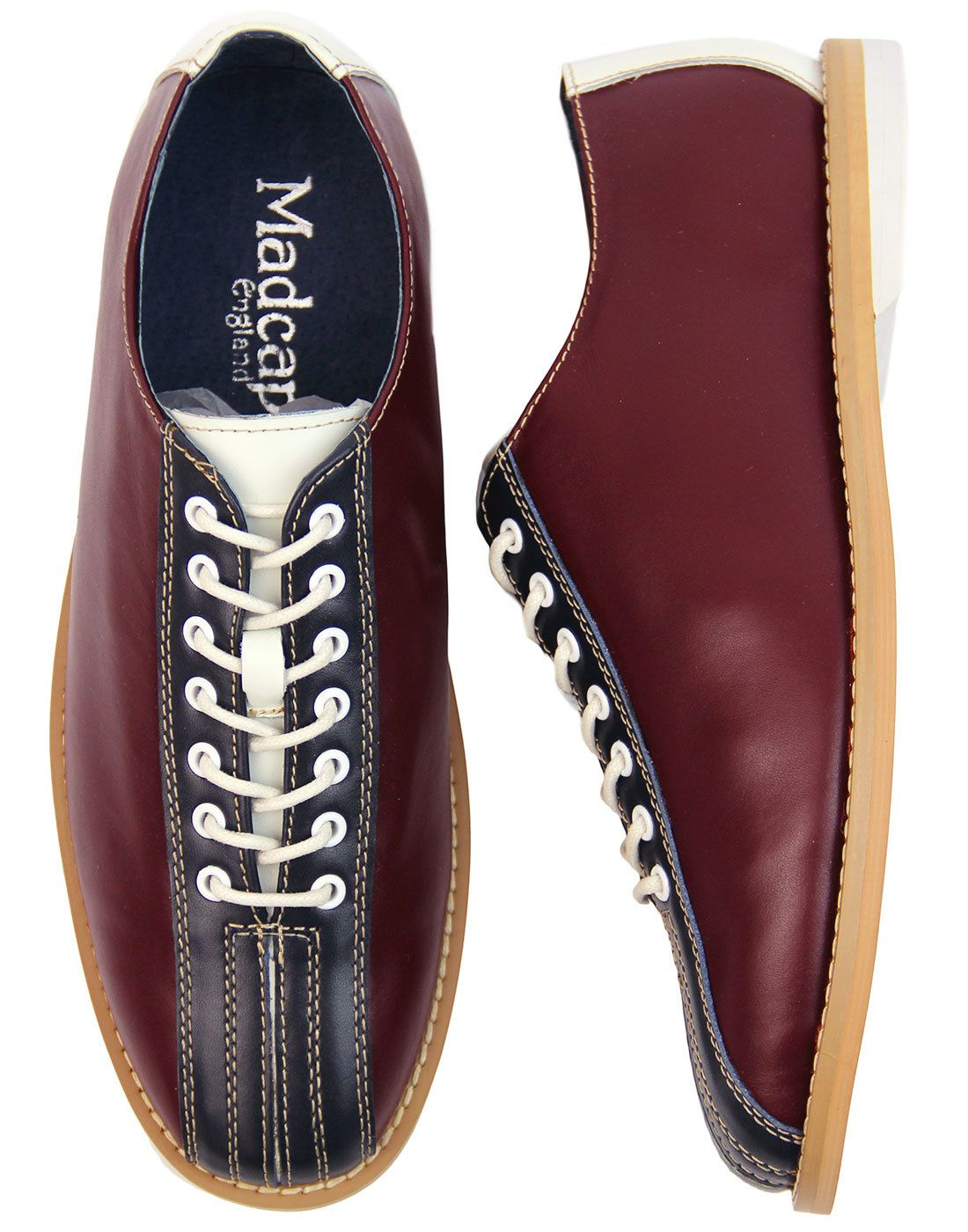 wholesale dealer 1e21f b90a6 The Dudette MADCAP ENGLAND Retro Mod Bowling Shoes