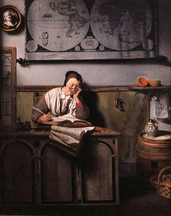 Maes, Nicolaes (b,1632)- Accounts, c 1656 -2b
