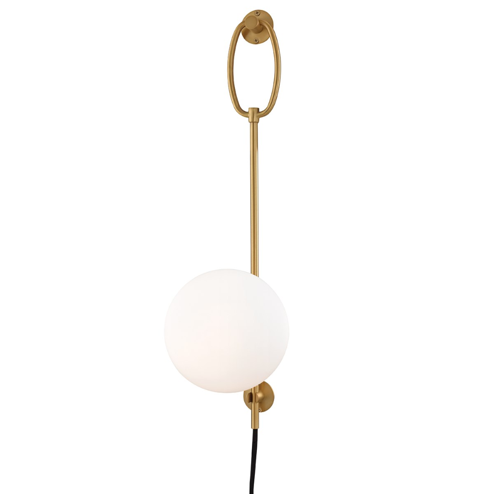 Gina With Images Wall Sconce Lighting Hudson Valley Lighting Plug In Wall Sconce