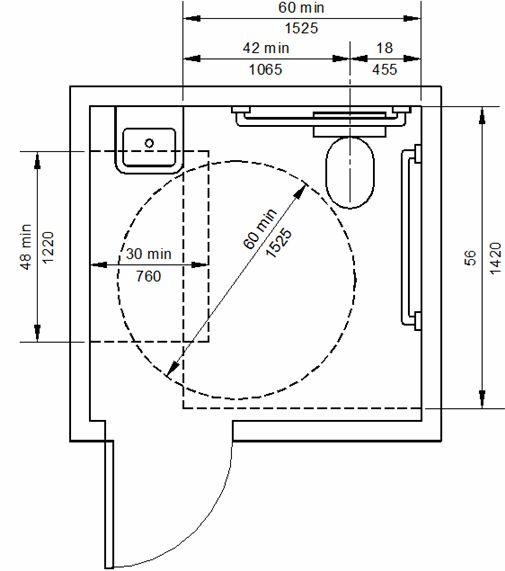 Merveilleux Image Result For Ada T Shape Configuration Restroom Layout 2016 Ada Bathroom  Requirements, Bathroom