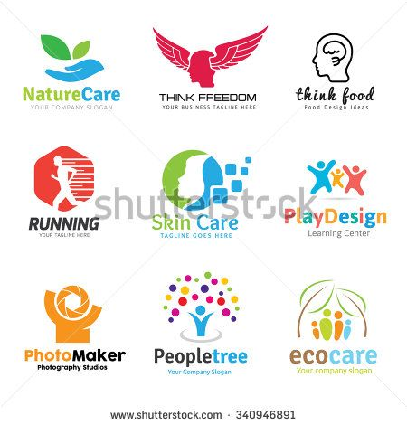 Logo Collection Logo Set People Logo Idea Logo Kids Logo