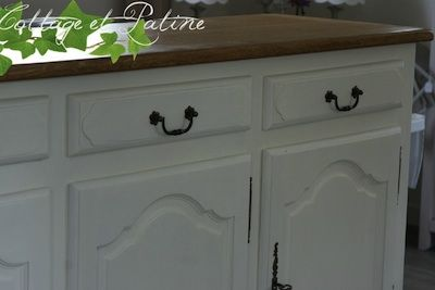 Repeindre un meuble ancien bricollage pinterest for Repeindre un buffet