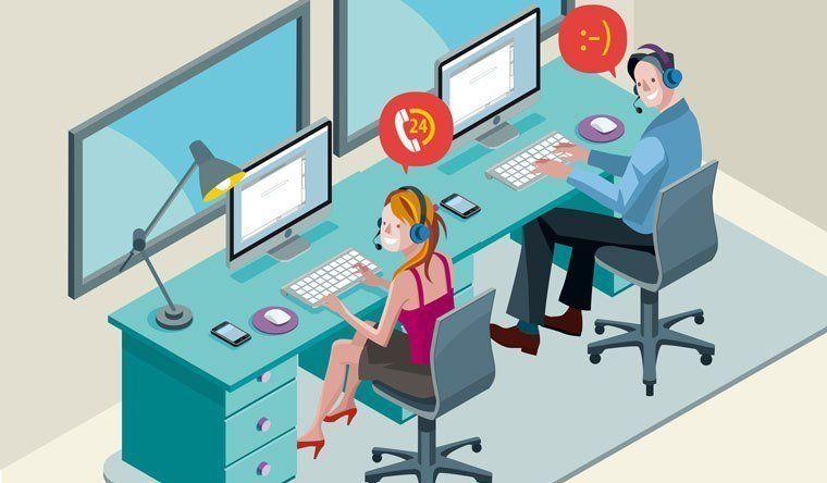مشروع Virtual Call Center Call Center Virtual Call Center Customer Service Scripts