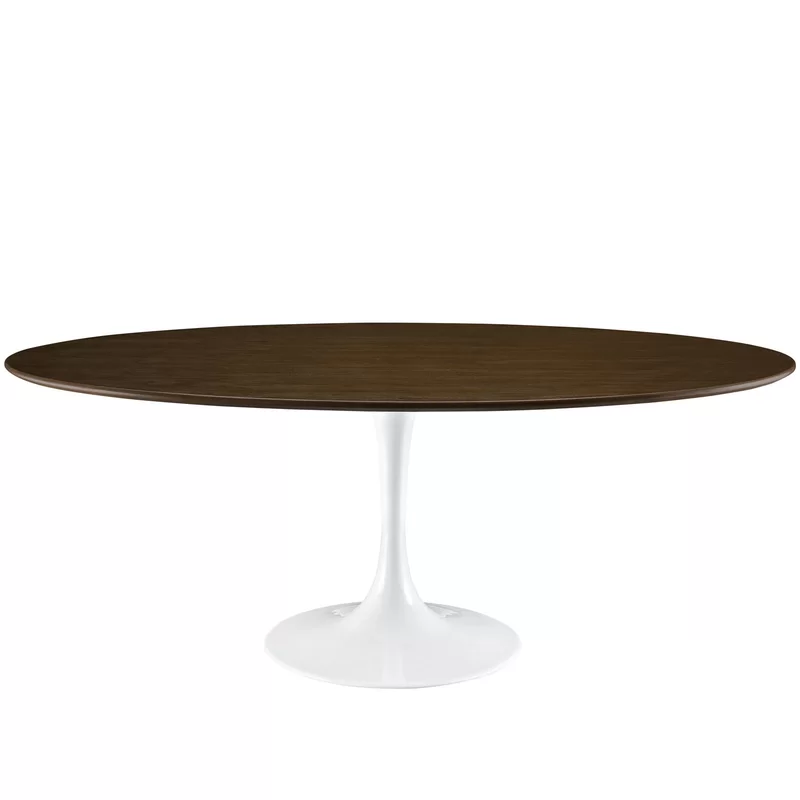 Julien Solid Wood Dining Table With Images Dining Table Oval
