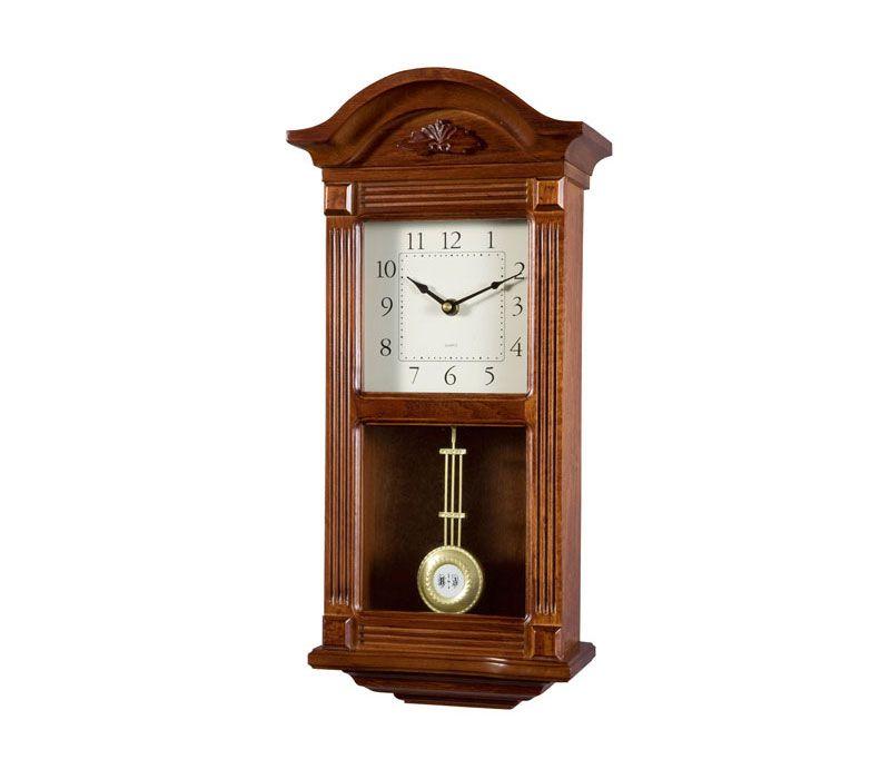 Reloj de pendulo de pared, 51cm con carillón soneria westminster ...