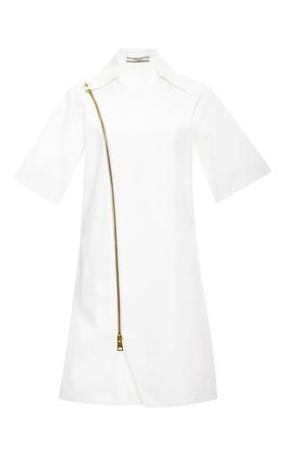 Zipped wrap dress by BOUCHRA JARRAR Available Now on Moda Operandi