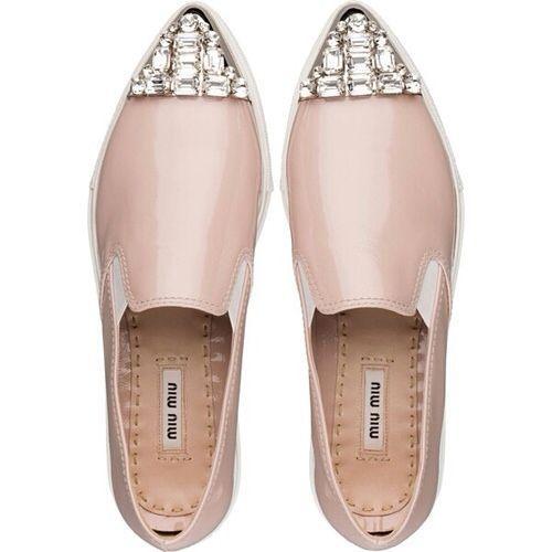 4c343bde9ea8 Miu Miu flat shoes   patent leather