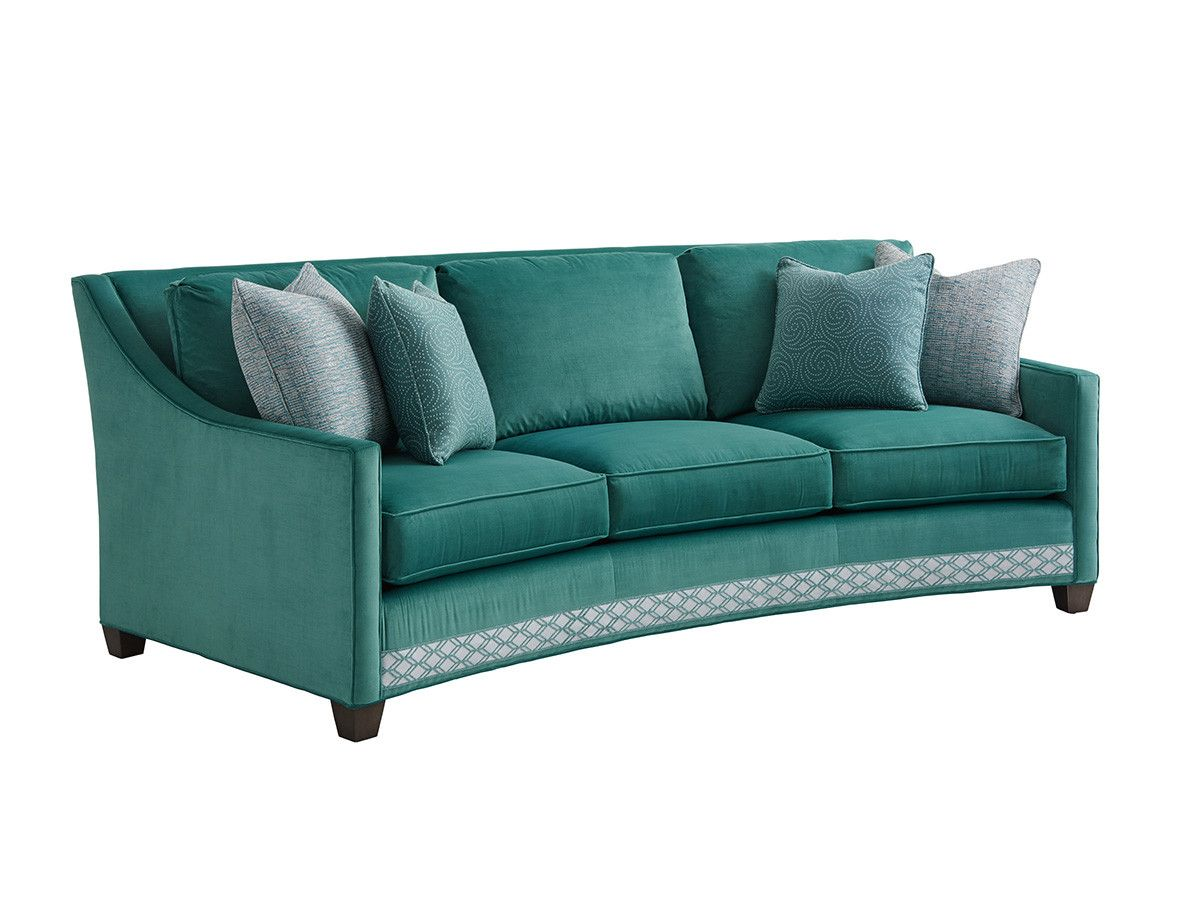 Wondrous Valenza Curved Sofa Lexington Home Brands Sofa Machost Co Dining Chair Design Ideas Machostcouk