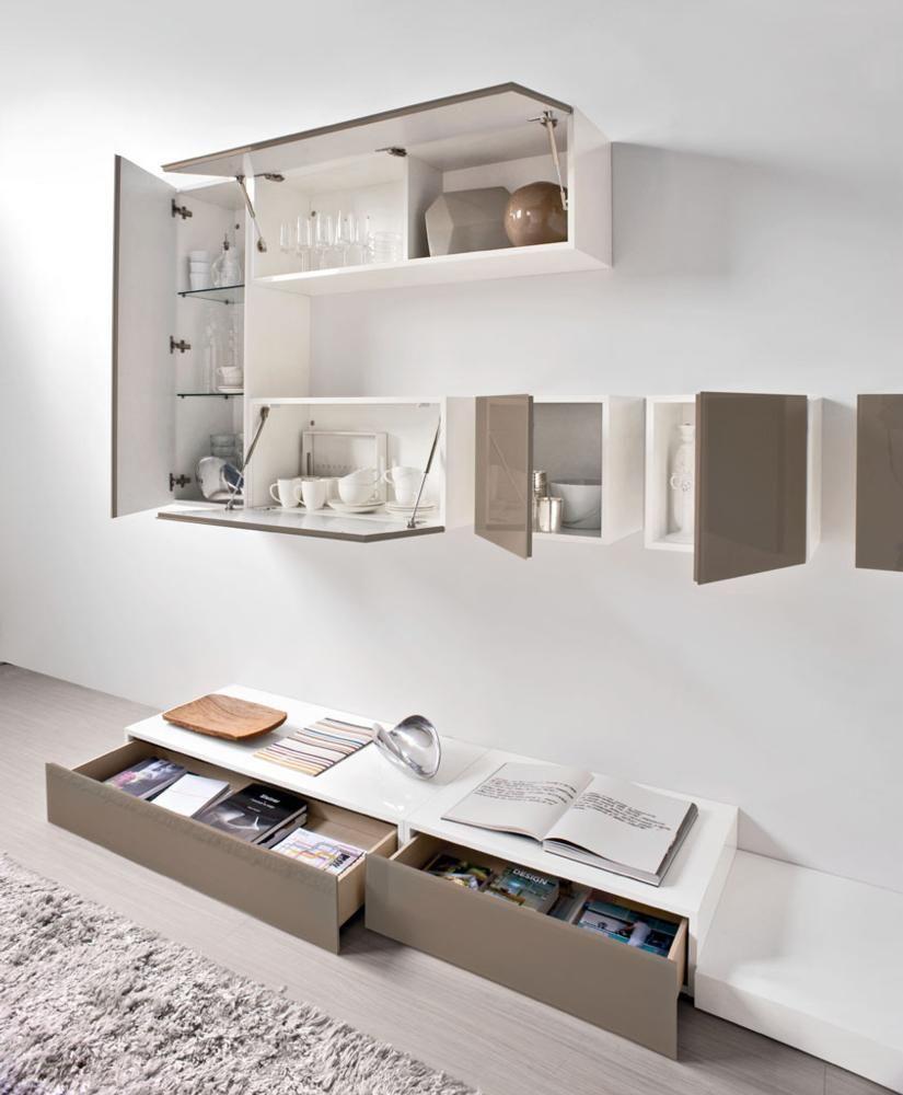 Calligaris Wall Units Voyager Furniture Calligaris Pinterest  # Muebles Di Giano