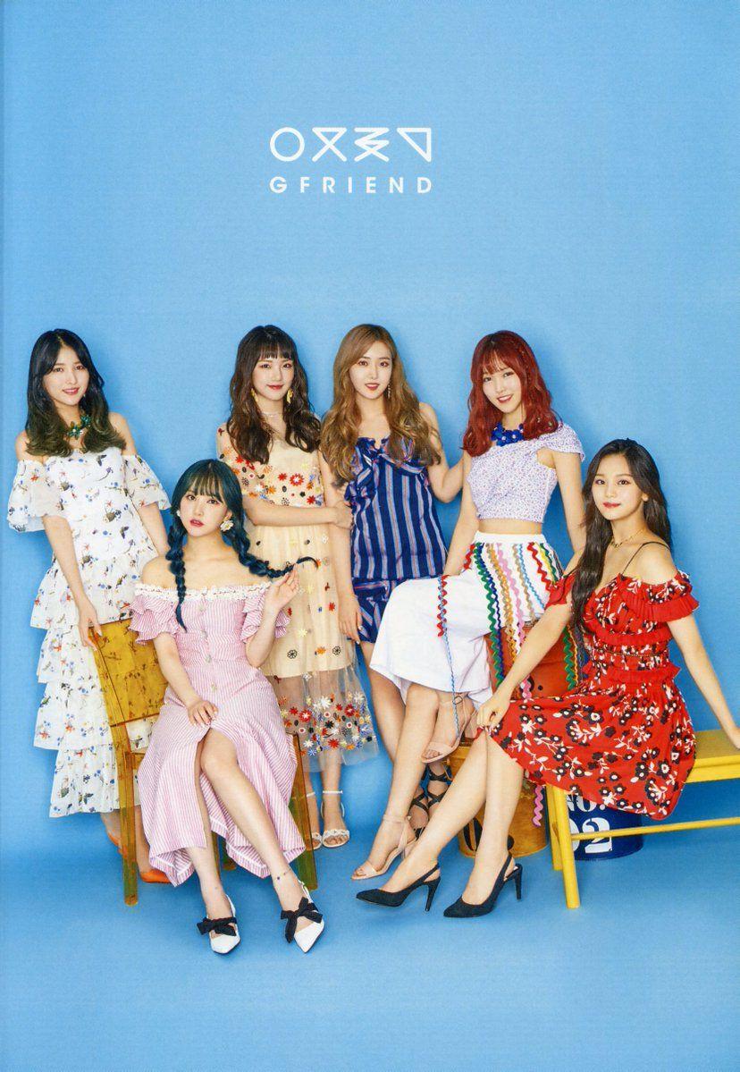Gfriend Official Fanclub Buddy 2nd Term Cr Verahsukpop Kpop Girls Kpop Girl Groups G Friend