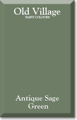 ANTIQUE SAGE GREEN (With images)   Sage green paint, Paint ...