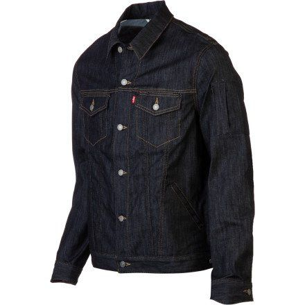 Levi's Commuter Trucker Men's Denim Jacket. Indigo Best, L - Men's ...