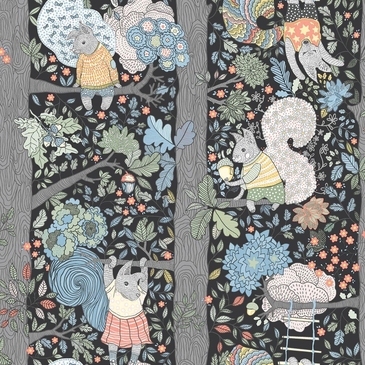 Scandinavian Designers Mini 6252 I Scandinavian Wallpaper Scandinavian Design Kids Wallpaper