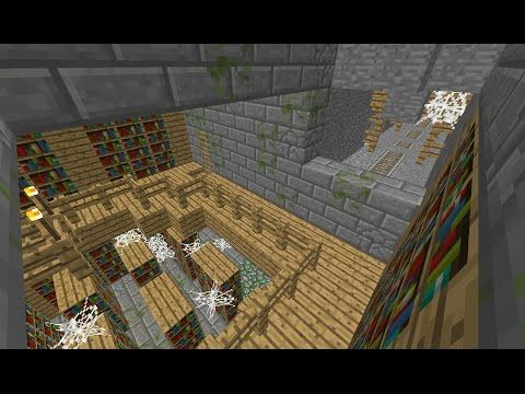 Awesome Abandoned Mineshaft Spawn Stronghold Dungeon Minecraft