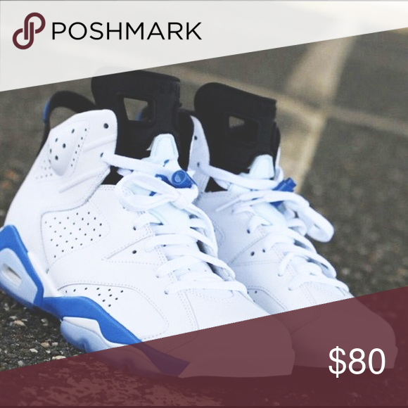 size 40 3387b 36215 Sport Blue 6s I am selling these sport blue 6s in a size 7Y ...