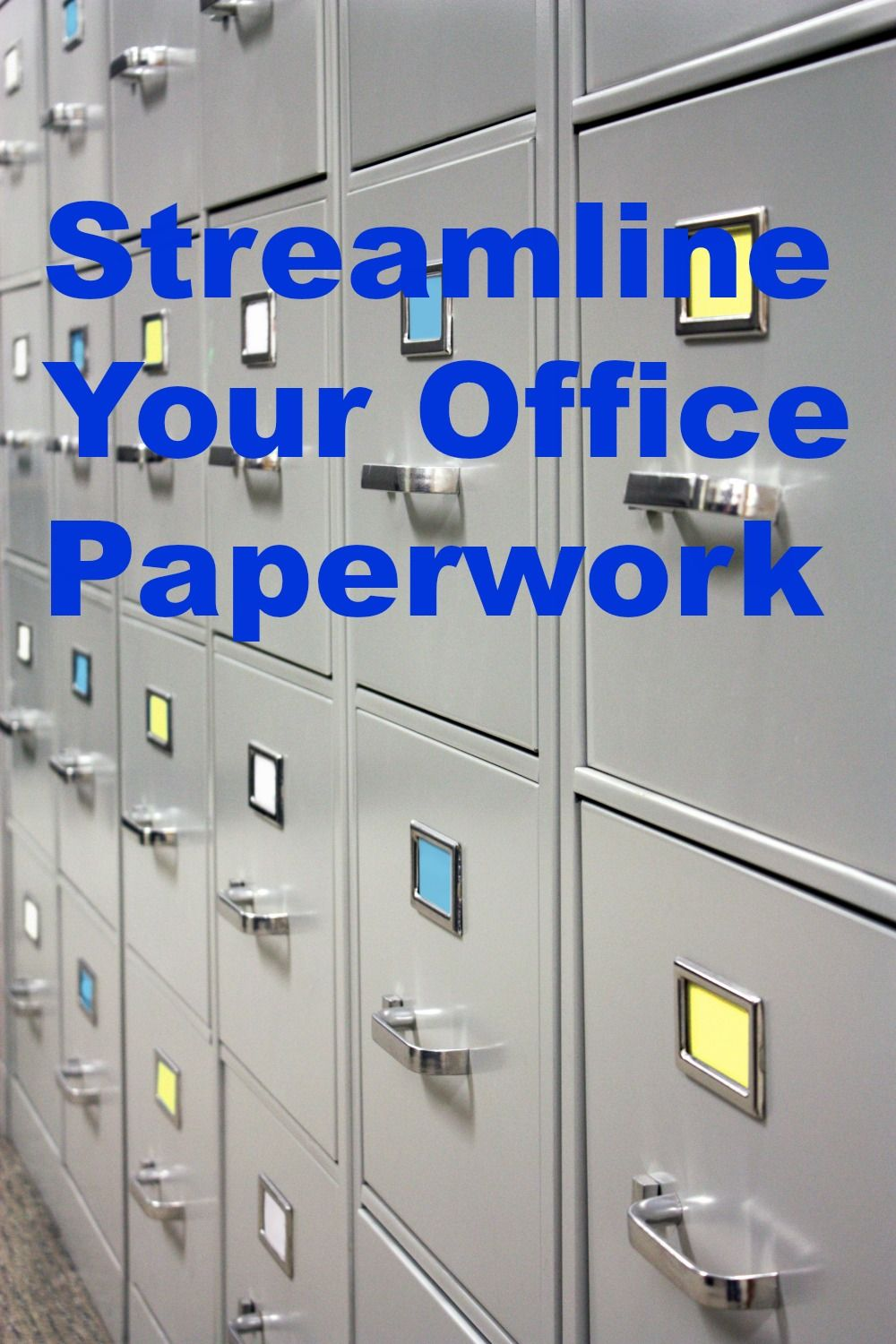 Streamline Office Paperwork Professional Organizer Organization Office Organization