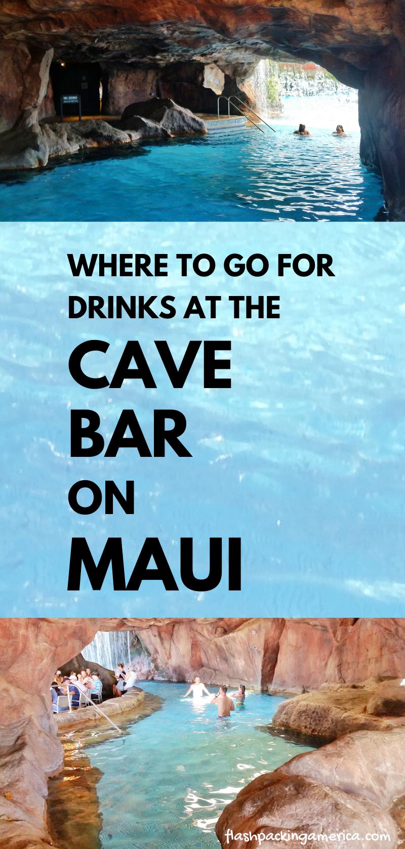 Grotto Bar Maui Menu Drinks At Cave Bar In Hawaii Hyatt Regency Maui Hawaii Travel Blog Flashpacking America Travel Hawaii Maui Hawaii Resorts Maui Travel