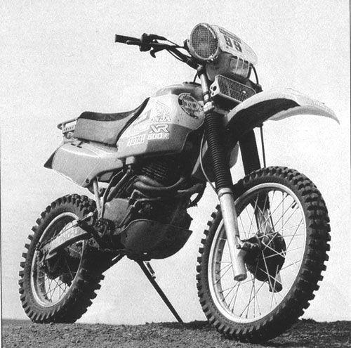 HONDA XR 550 Dakar 1982
