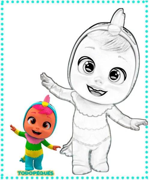 Dibujo De Los Bebés Llorones Búsqueda De Google Smurfs Cry Baby Character