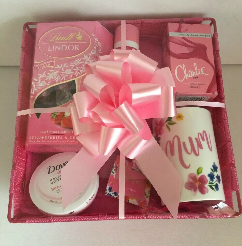 Mothers Day Birthday Gift Basket Hamper For Her Ladies Idea Wife Mum Sister