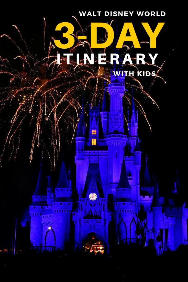 Ultimate 3-Day Walt Disney World Itinerary with Kids ...