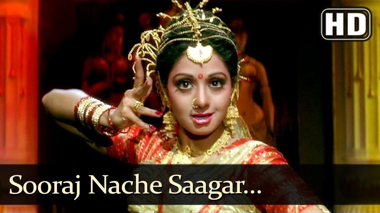 Sooraj Naache Sagar Naache Hd Pathar Ke Insan Song Sridevi Poona