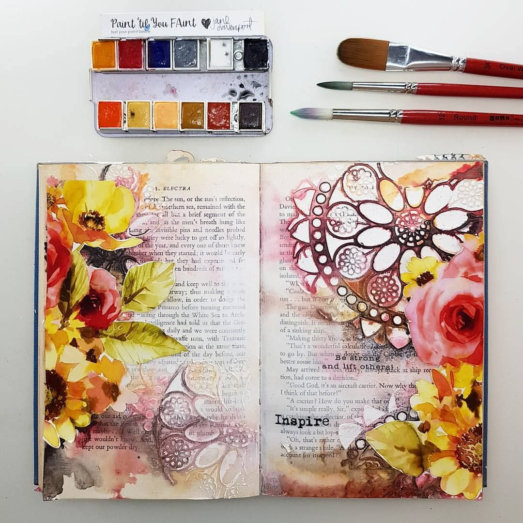 Art Diary Watercolor Art Journal