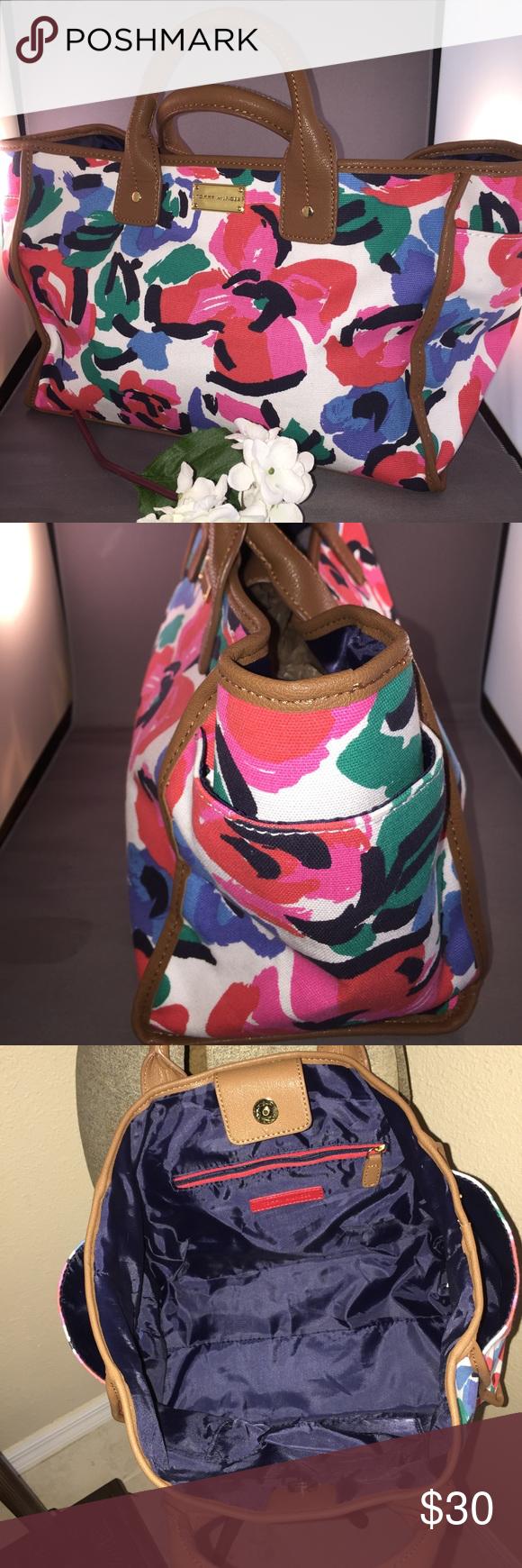 Tommy Hilfiger Colorful Spring Tote/Handbag Beautiful Like New colorful Tommy Hilfiger handbag/Tote. Tommy Hilfiger Bags Totes