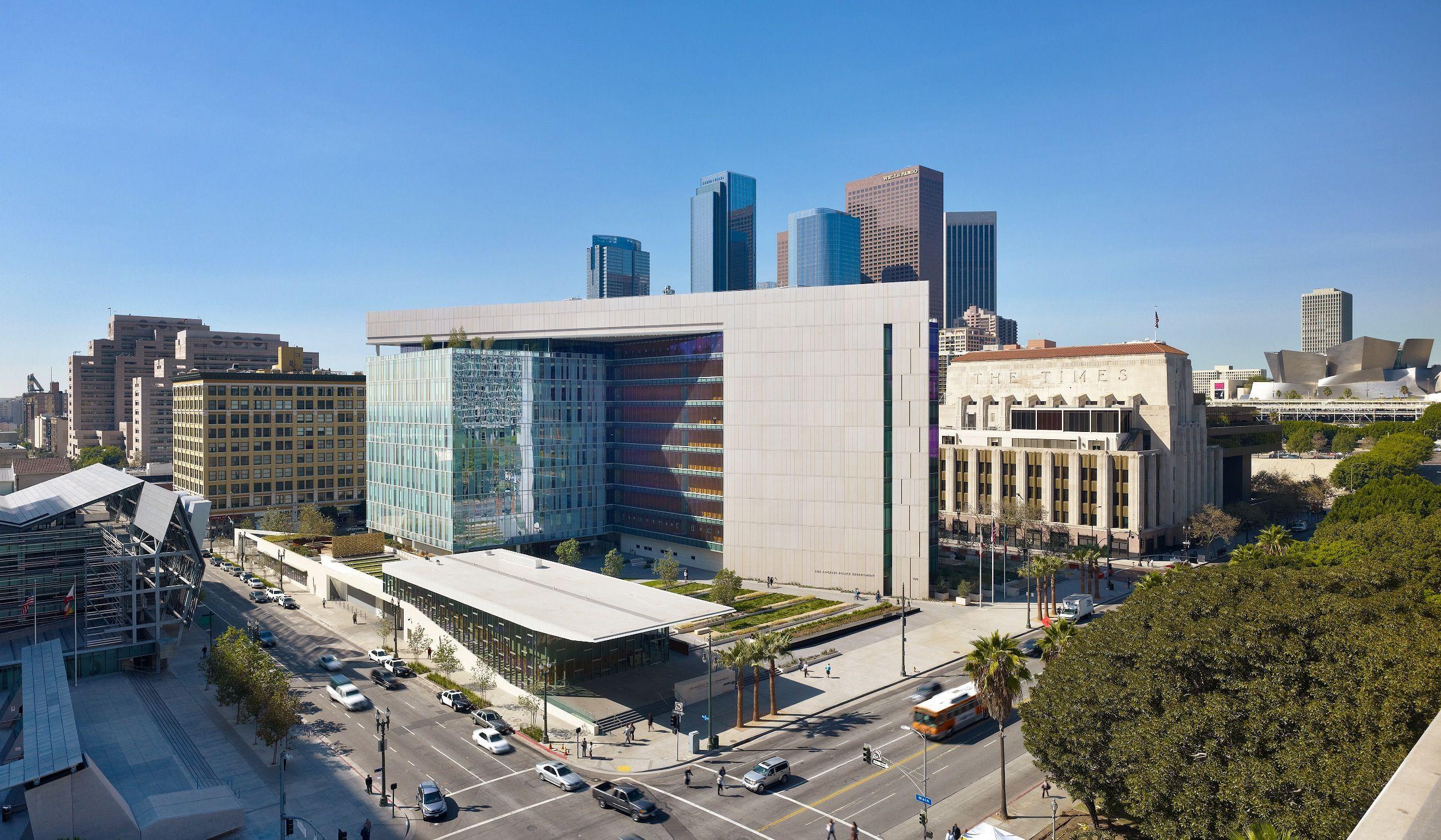 Los Angeles Police Department Headquarters Facility Los Angeles Police Department Los Angeles Lapd