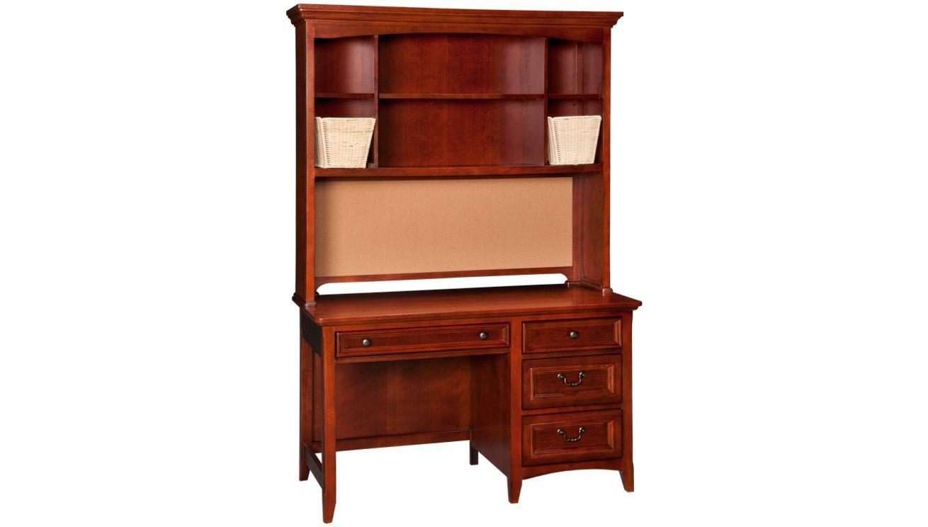 Loft bed with desk jordan's furniture  Legacy  American Spt   Drawer Computer Desk With Hutch  Jordanus
