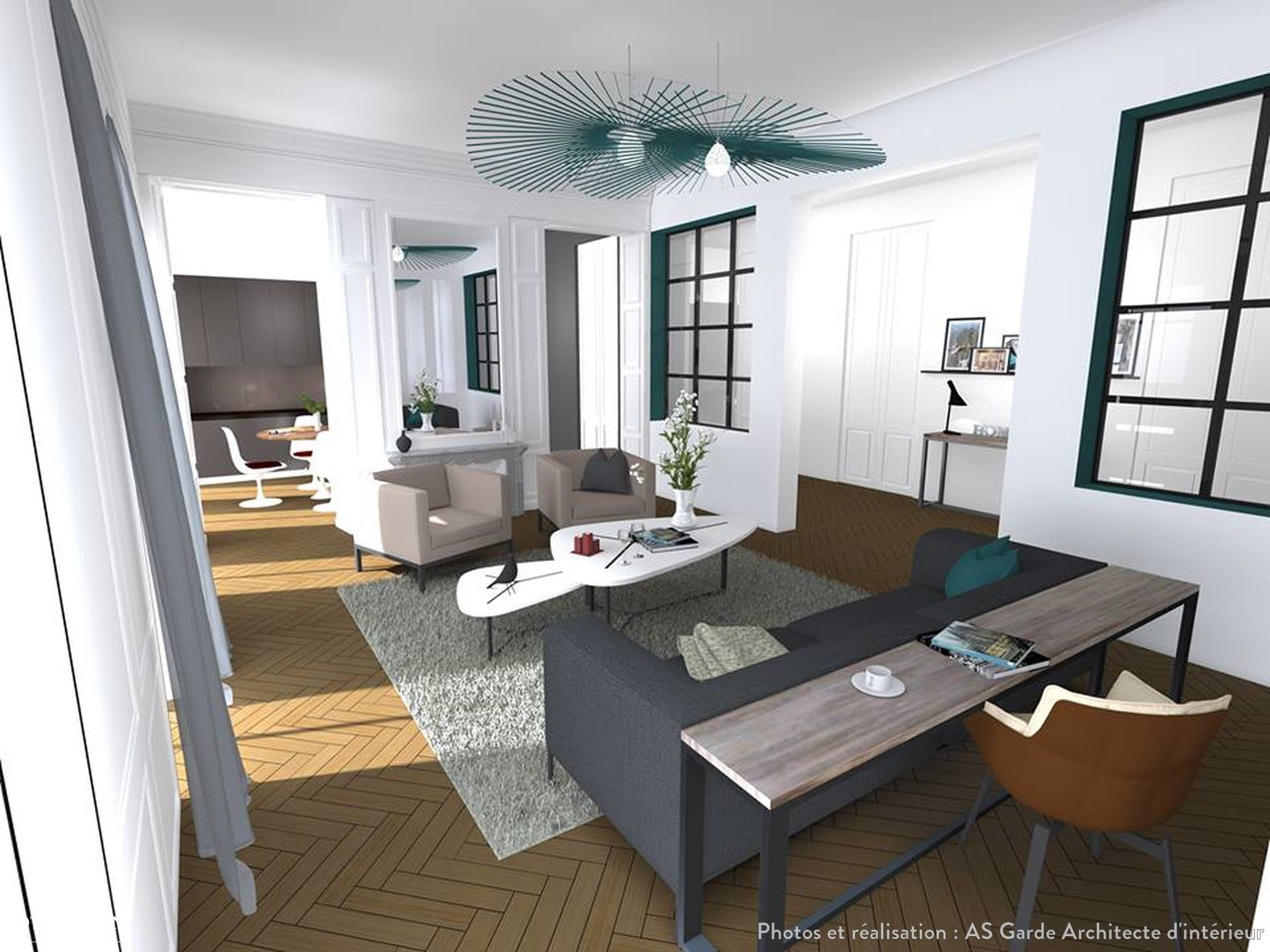 Appartement Haussmannien Paris AS Garde Architecte D Int Rieur
