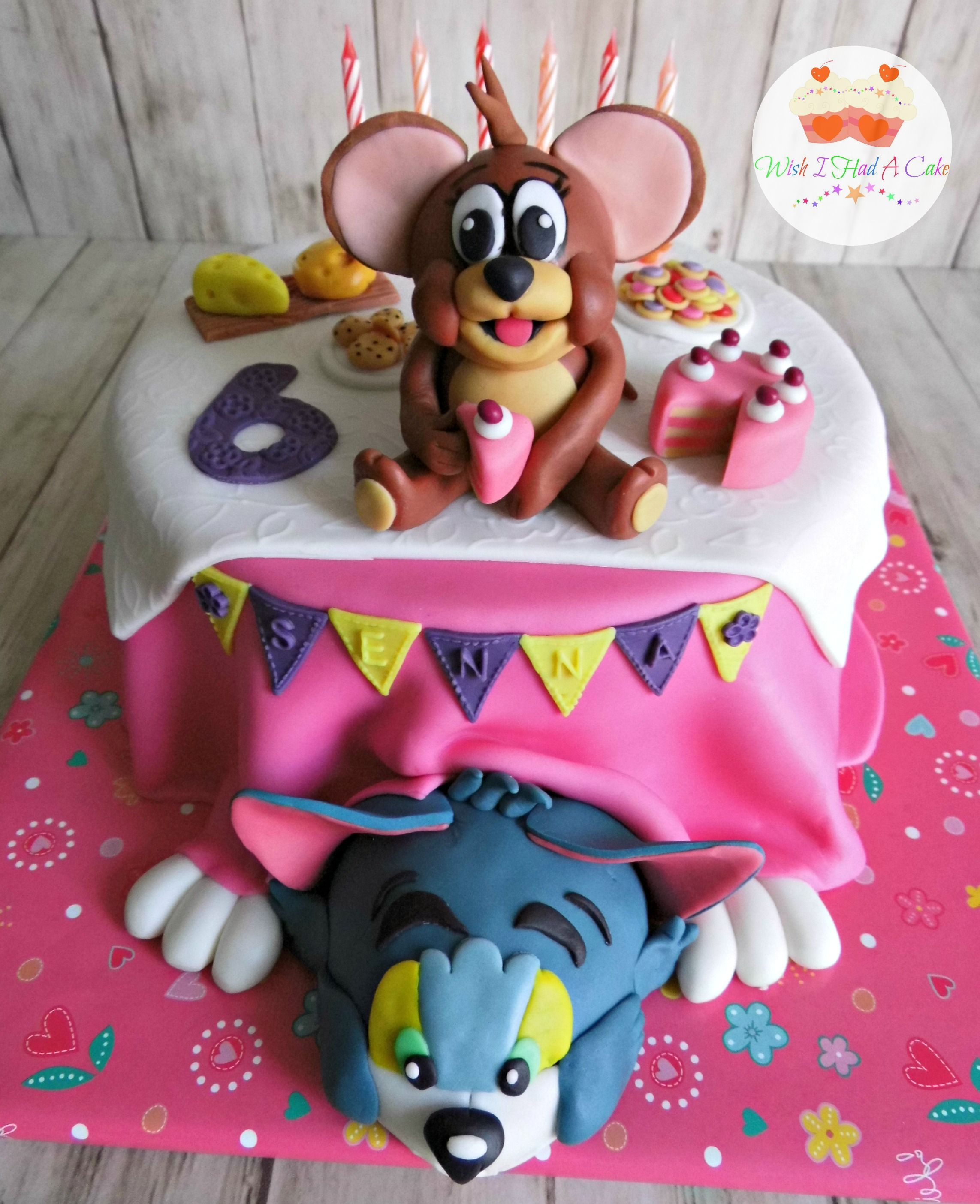 tom and jerry cake ideas