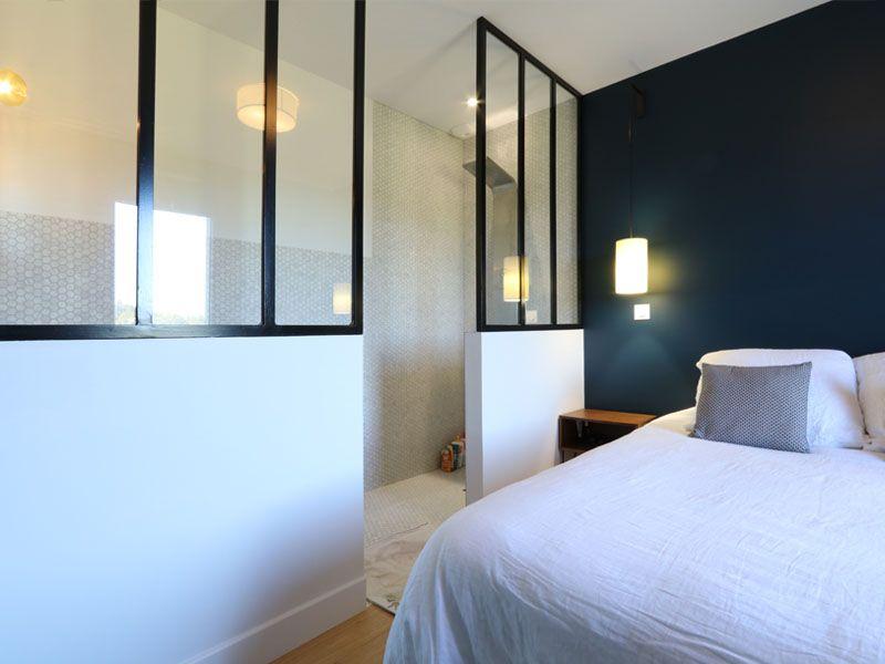 maison basque et contemporaine chambre avec verriere - Chambre Avec Verriere