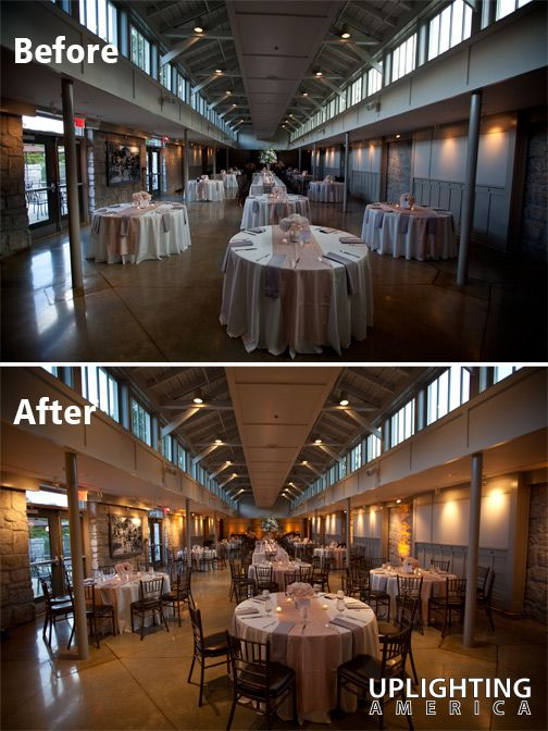 Uplighting At The Greystone Piedmont Park In Atlanta By America Wedding And