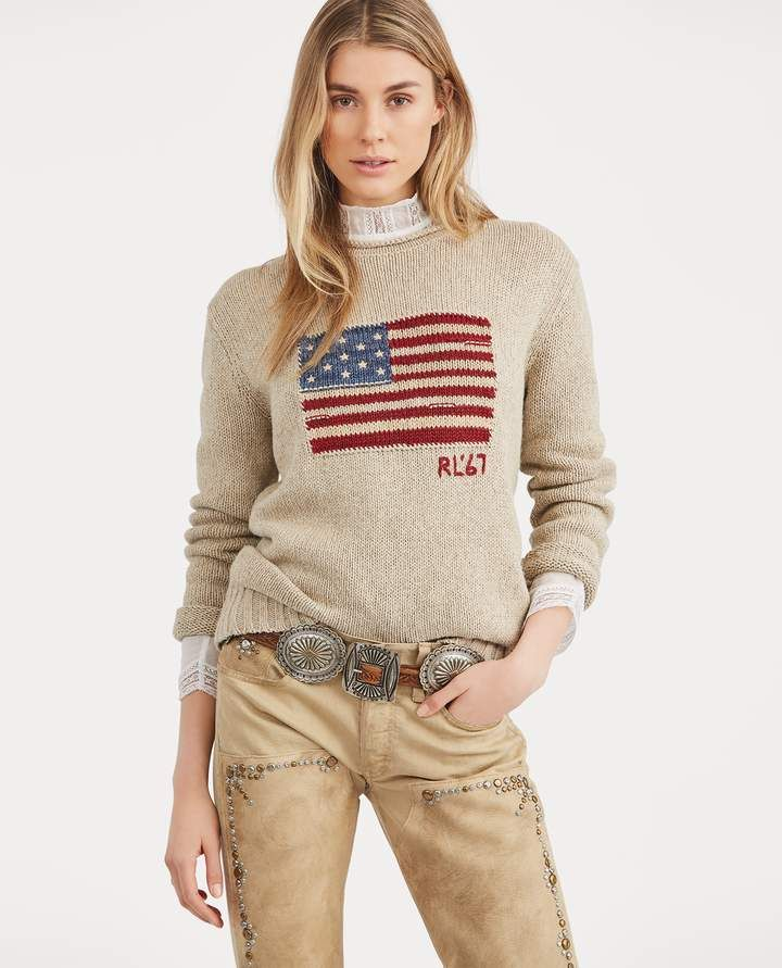 3cdfccef3061e ... buy ralph lauren flag rollneck sweater f6cdf b67e4