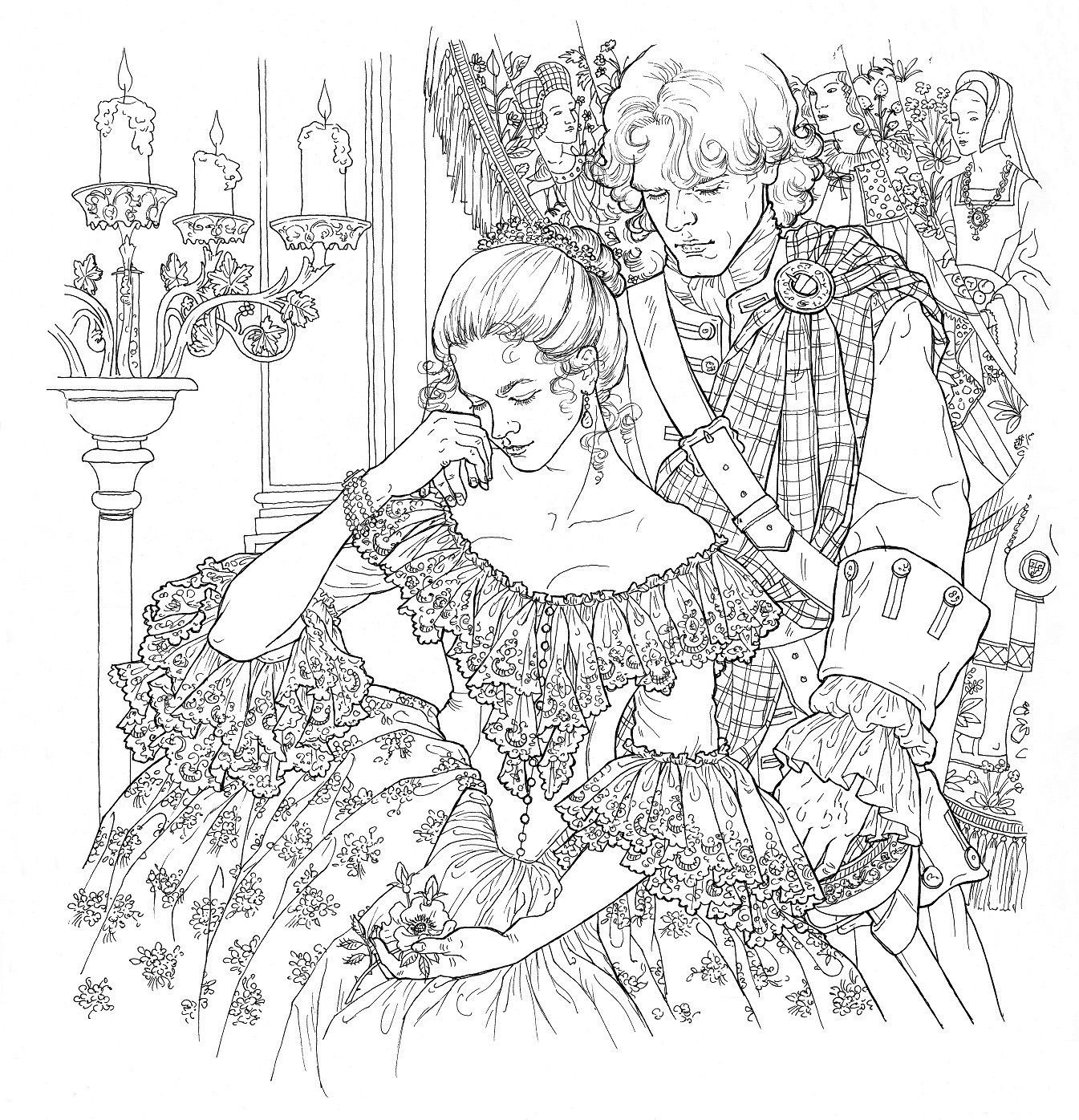 The Perfect Gift For Fans Of Diana Gabaldons Outlander Novels And Starz Original Series This Spectacular Coloring Book Features Forty Five All New
