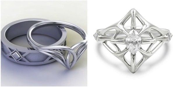Lord of the Wedding Rings ThinkGeek 3s Pinterest Lord Ring